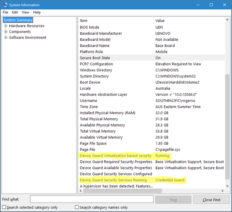 Demystify: Windows 10 Device Guard Windows Defender